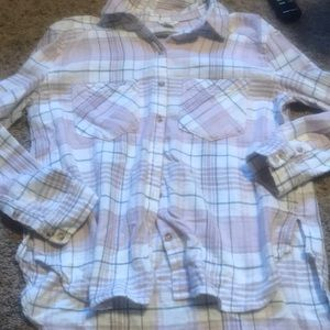 Pink/ grey flannel from forever 21